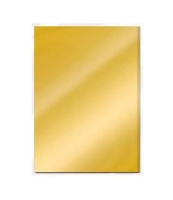5 CARTONS MIROIR SATIN A4 - GOLD PEARL - TONIC STUDIOS