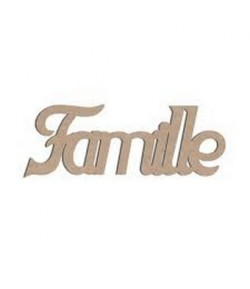 MOT BOIS FAMILLE
