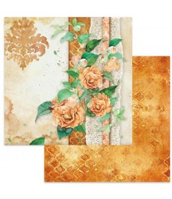 PAPIER FLOWERS FOR YOU YELLOW 30 X 30 CM - SBB645