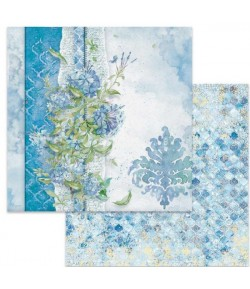 PAPIER FLOWERS FOR YOU BLUE 30 X 30 CM - SBB646