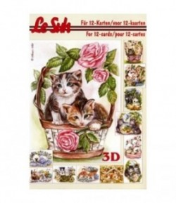 LIVRET 3D LES CHATS 345625
