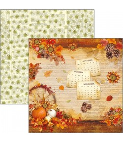 PAPIER THE SOUND OF AUTUMN CB 30.5X30.5CM CBSS078