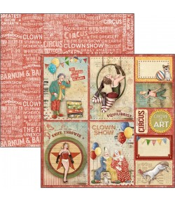 PAPIER THE CIRCUS CARDS CIAO BELLA 30.5X30.5CM CBSS088