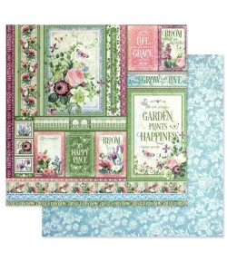 PAPIER GROW WITH LOVE - BLOOM COLLECTION - GRAPHIC 45