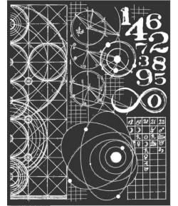 POCHOIR ASTRONOMY 20X25CM EP 0.25 KSTD042