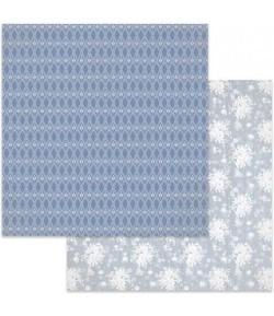 PAPIER WHITE FLOWERS 30 X 30 CM - SBB621 STAMPERIA