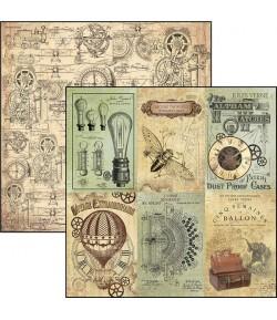 PAPIER J.VERNE CARDS CIAO BELLA 30.5X30.5CM CBSS074