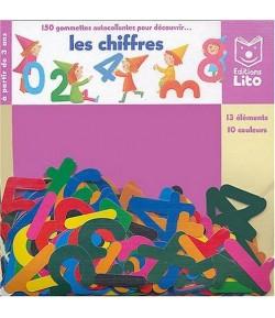 SACHET 150 GOMMETTES  LES CHIFFRES