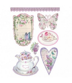 ETIQUETTES A5 TEA TIME STAMPERIA