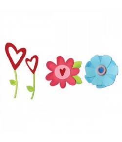 DIES FLOWERS SIZZIX 656762
