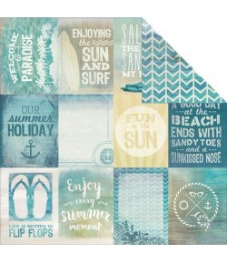 PAPIER KC SANDY TOES - BEACH BUM 30X30CM
