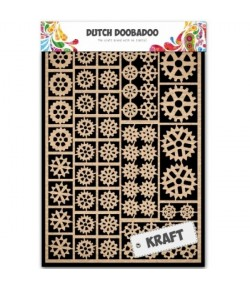 EMBELLISSEMENTS KRAFT ENGRENAGES - DUTCH DOOBADOO