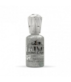 NUVO CRYSTAL DROPS GLITTER SILVER MOONDUS 30ML