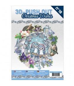 BLOC 3D A4 + PAPIERS -  CHRISTMAS WISH N°18