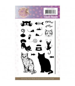 TAMPONS CLEAR CAT'S WORLD AMY DESIGN ADCS10064
