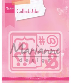 DIES COLLECTABLES POCKET CARD  - COL1389