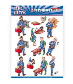 FEUILLE 3D BIG GUYS - SB10359