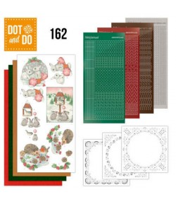 KIT 3D DOT LAPINS ET HERISSONS - 162