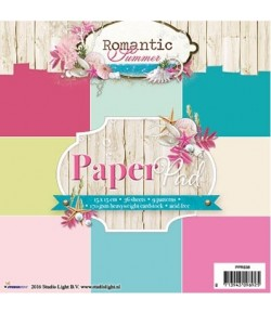 BLOC 15 X 15 CM ROMANTIC SUMMER - PPRS36