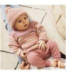LAINE BABY DREAM LUX ROSE BIEGE PARME (012)