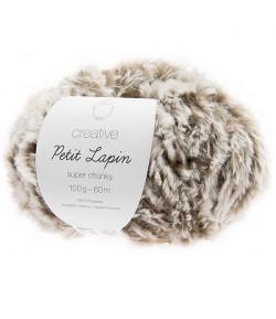 LAINE CREATIVE PETIT LAPIN GRIS (006)