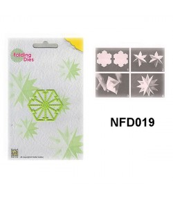DIE PLIAGE ETOILE NOEL - NFD019
