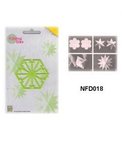 DIE PLIAGE ETOILE NOEL - NFD018