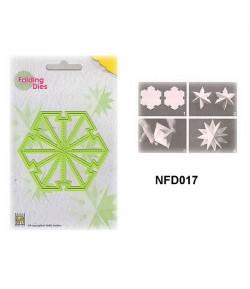 DIE PLIAGE ETOILE NOEL - NFD017