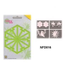DIE PLIAGE ETOILE NOEL - NFD016