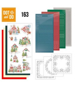 KIT 3D DOT SWEET HOUSES - 163