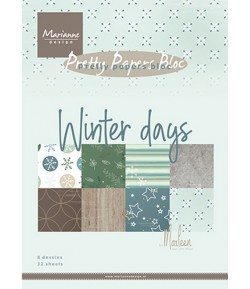 BLOC A5 WINTER DAYS  - MARIANNE DESIGN - PK9164