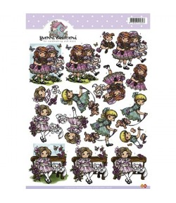 FEUILLE 3D GIRLS CD10178