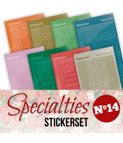 LOT 8 STICKERS SPECIALTIES - N°14