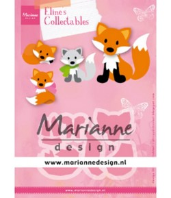 DIES COLLECTABLES RENARD - COL1474