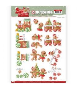 FEUILLE 3D SWEET CHRISTMAS - SB10396