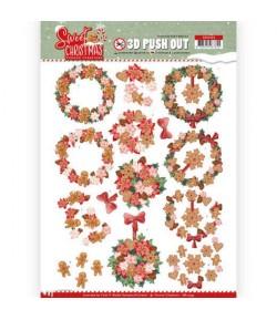 FEUILLE 3D SWEET CHRISTMAS - SB10395
