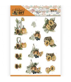 FEUILLE 3D NATURE GIFT - SB10384