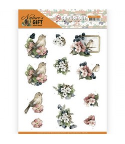 FEUILLE 3D NATURE GIFT - SB10385
