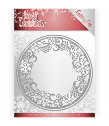 DIES CIRCLE LOVELY CHRISTMAS
