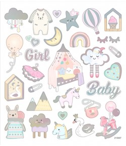 AUTOCOLLANTS BABY GIRL