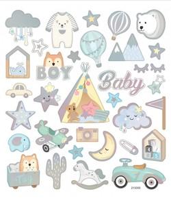 AUTOCOLLANTS BABY BOY
