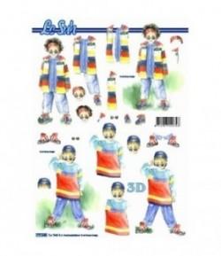 FEUILLE 3D JUNIORS 777546