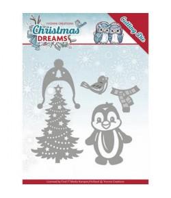 DIES CHRISTMAS PENGUIN 10144