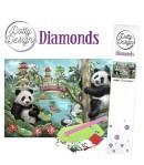 KIT DIAMOND PAINTING PANDA