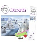 KIT DIAMOND PAINTING OURS POLAIRES 29.7X42CM
