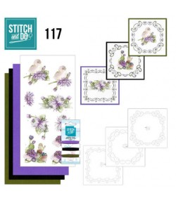 KIT 3D A BRODER CHRYSANTHEMES - STDO117
