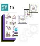 KIT 3D A BRODER CHRYSANTHEMES - STDO117