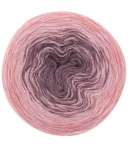 LAINE CREATIVE WOOL DÉGRADÉ MAUVE ROSE  (008)