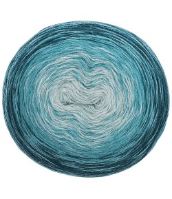 LAINE CREATIVE WOOL DÉGRADÉ PETROLE  (003)