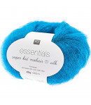 LAINE SUPER KID MOHAIR BLEU (023)